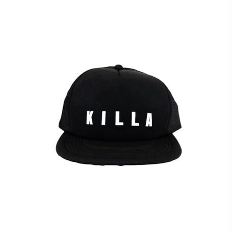 KILLA FROT LOGO MESH CAP BLACK