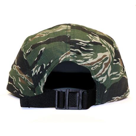 RUBBER BOX LOGO 5PANEL CAP TIGER CAMO