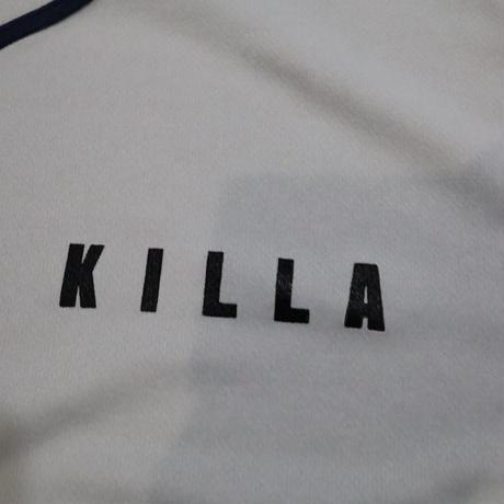 KILLA BASEBALL JERSEY GRAY