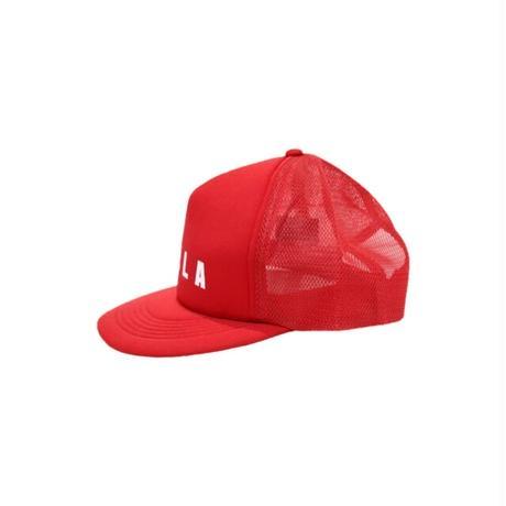 KILLA FROT LOGO MESH CAP RED