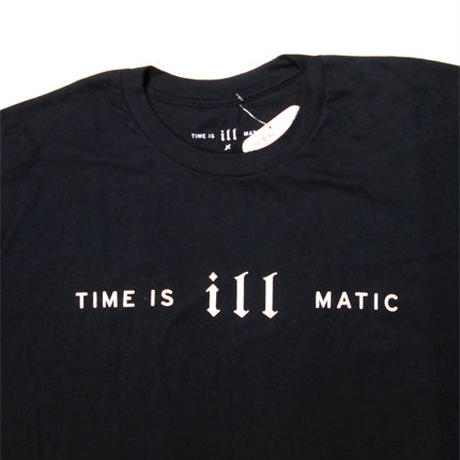 Time is illmatic × ATW T-SHIRT BLK
