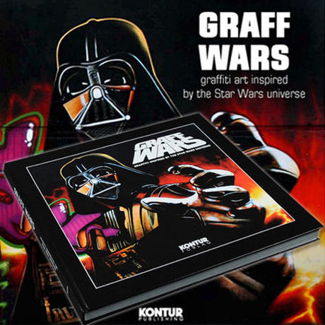 GRAFF WARS GRAFFITI INSPIRED By THE STAR WARS UNIVERSE