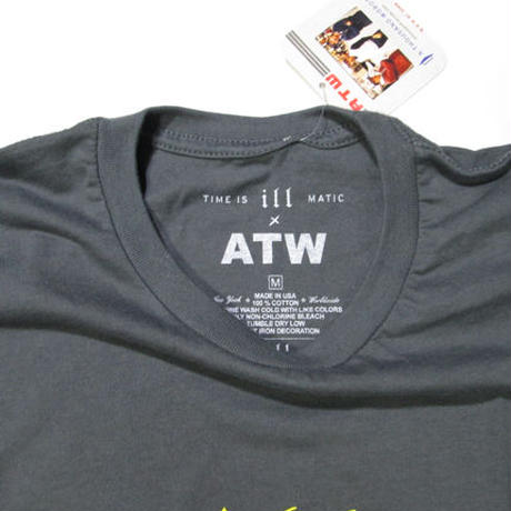 Time is illmatic × ATW T-SHIRT C/GREY
