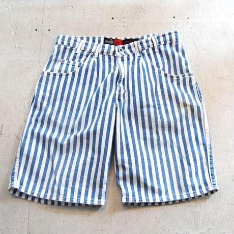 90s USA Levi's SILVERTAB Stripe Half Pants