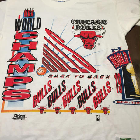 "92′s ''CHICAGO BULLS"" BACK TO BACK T-shirts"