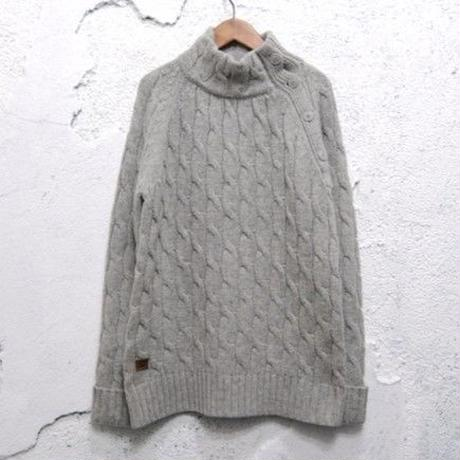 【Schott】Wool Design Knit Sweater
