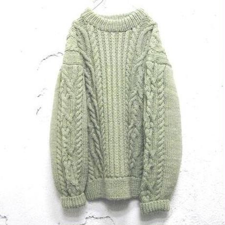 hand knit pullover