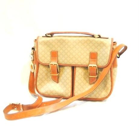 【CELINE】Macadam Patern Shoulder Bag