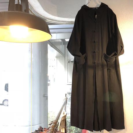 linen CHINA hoodie coat