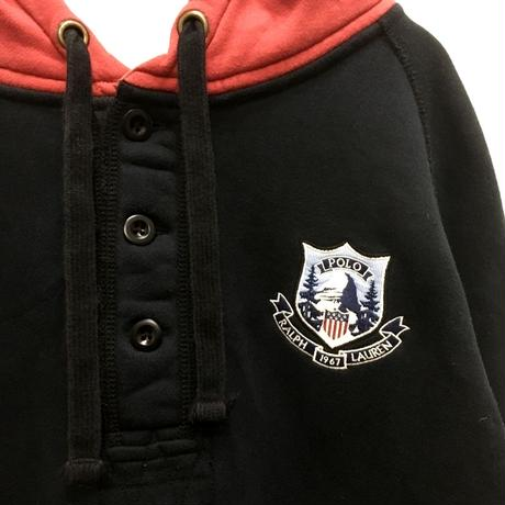 【POLO by Ralph Lauren】ハーフボタンパーカー
