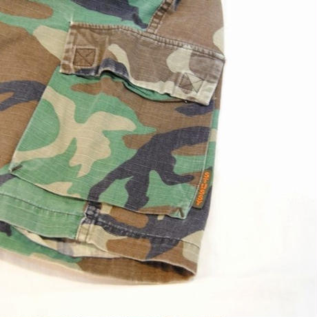 90s 【OLD STUSSY】Half Cargo Pants