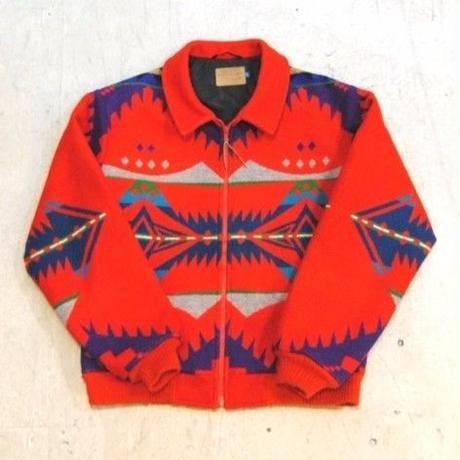 70s 【PENDLETON】native jacket