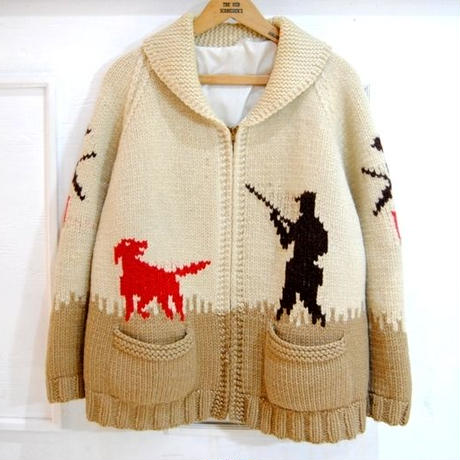 60s  cowichan sweater