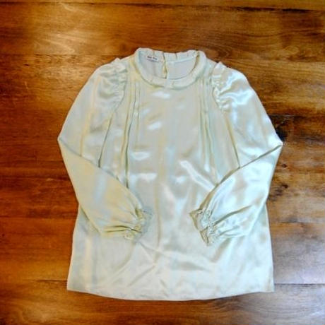 【miu miu】Silk Blouse