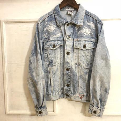 【GUESS】 90s レースデニムジャケット