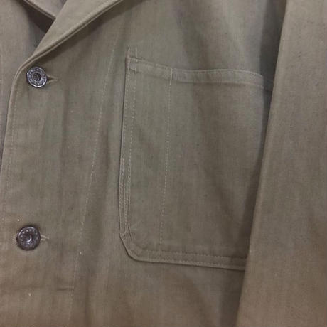 40s US NAVY HBT jacket