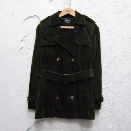 【L.L. BEAN】Corduroy Half Coat