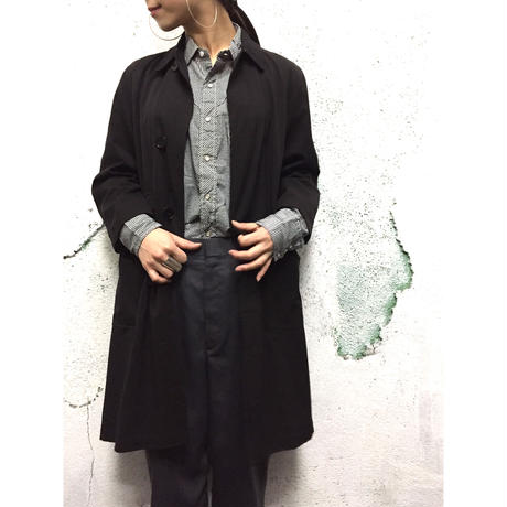 """Ralph Lauren Purple Label""  Stand fall collar coat"