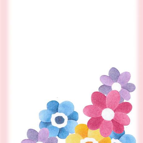 ⑤カット絵【花A】