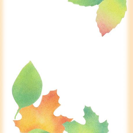 ②カット絵【葉】