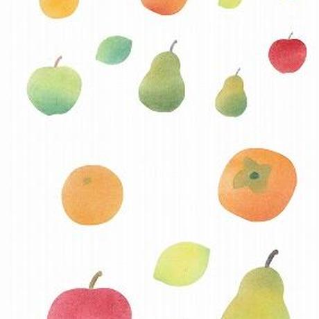 ⑧カット絵【みかん・リンゴ・レモン・洋ナシ】