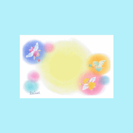 メッセージカード【天使】