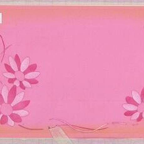 メッセージカード【花】