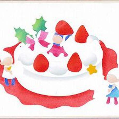 B5【小人とケーキ】