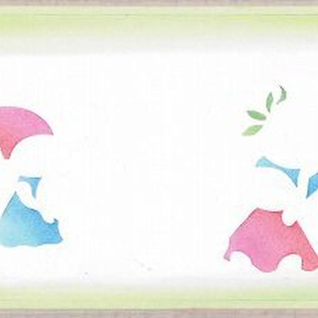 メッセージカード【小人といちご】