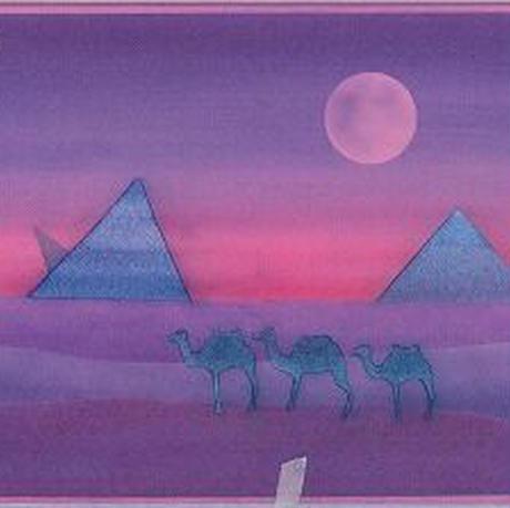 B5【月とピラミッド】