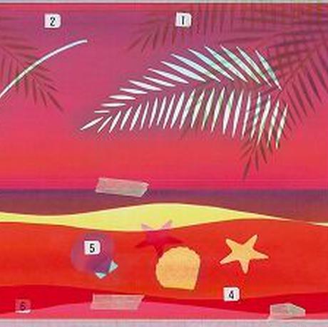 B5【浜辺】
