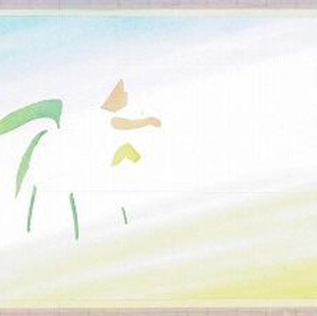 メッセージカード【小人とさくらんぼ】