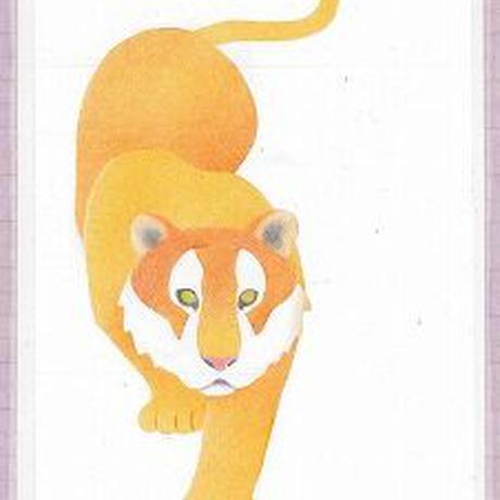 メッセージカード【虎】