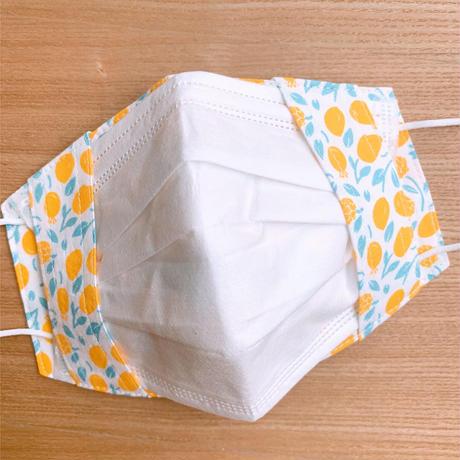 不織布マスク用マスクカバー( Honey Lemon/K)