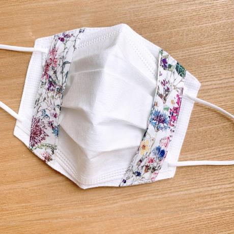 不織布マスク用マスクカバー(LIBERTY/Wild flower)