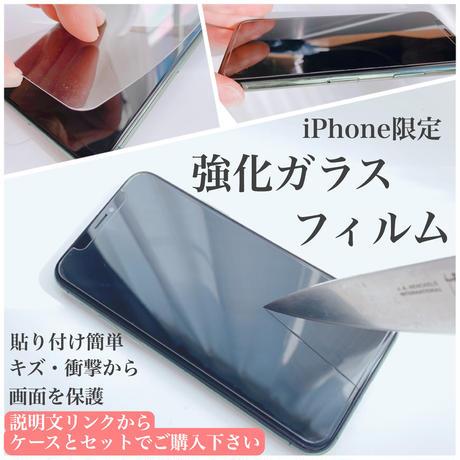 黄色と紫のかすみ草リング付きスマホケース ゴールド iPhone全機種対応