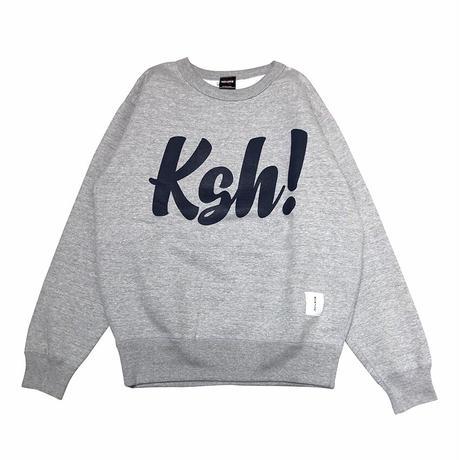 Ksh! CREWNECK SWEAT 12.4oz