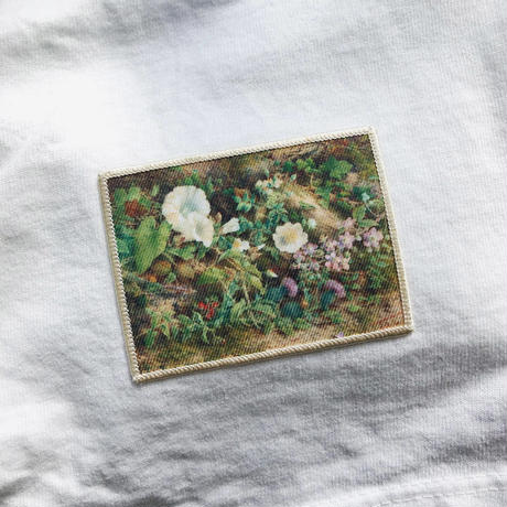 『Flower Study -1866- John Jessop Hardwick』ワッペン