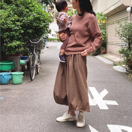 【 OMNIGOD 】Gather skirt -check-