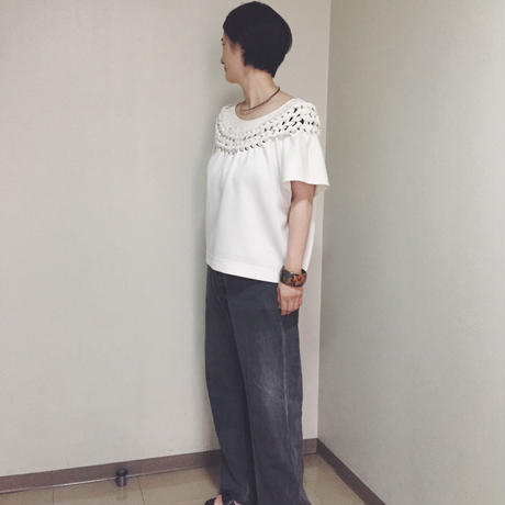 【 Create Clair 】Braided pullover