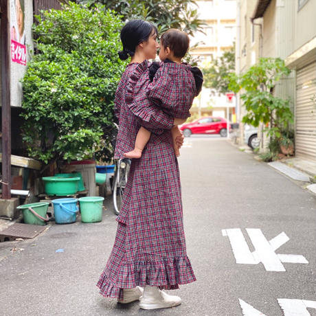【 HOUGA 】windy skirt