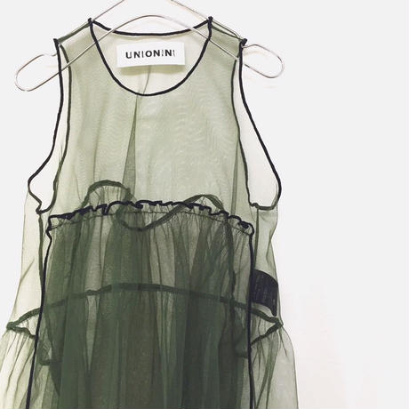 【 UNIONINI 】tulle apron dress