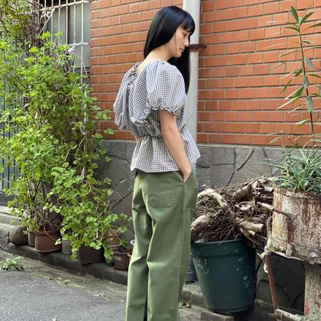 【 HOUGA 】mary blouse