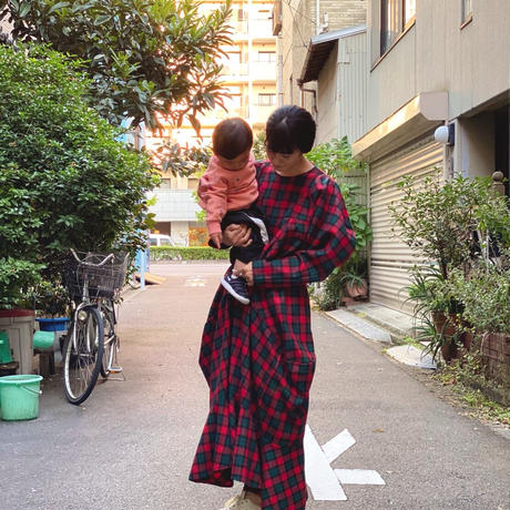 【 HOUGA 】twiddle blouse -Redch-
