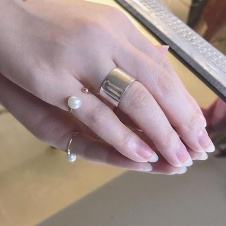 【 LILIUM BROWNII VAR.COLCHESTERI 】AkoyaPerl pinkie ring