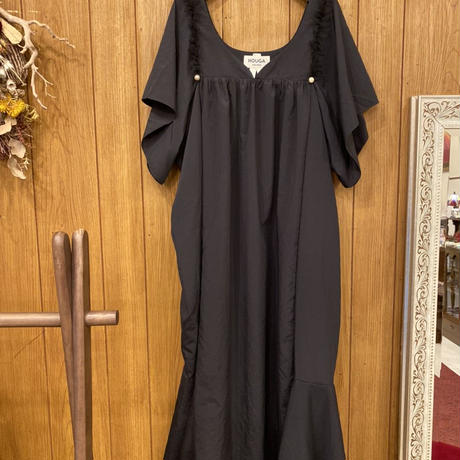 【 HOUGA 】tulip flared dress