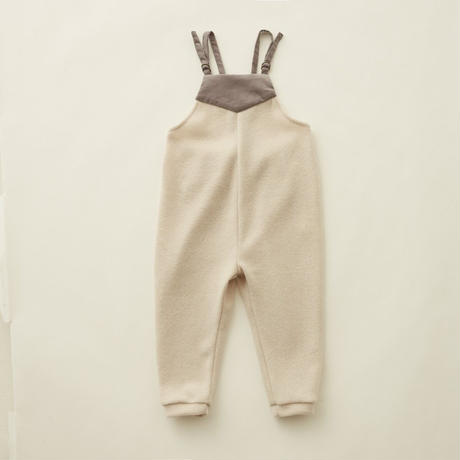 【 eLfinFolk 】melange baby bodyall -90 size-