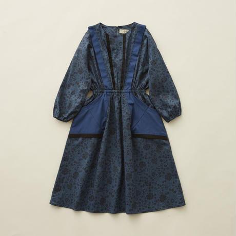 【 eLfinFolk 】wild flower dress -110size-