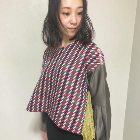 【 Yuumi ARIA 】TWEED TOPS