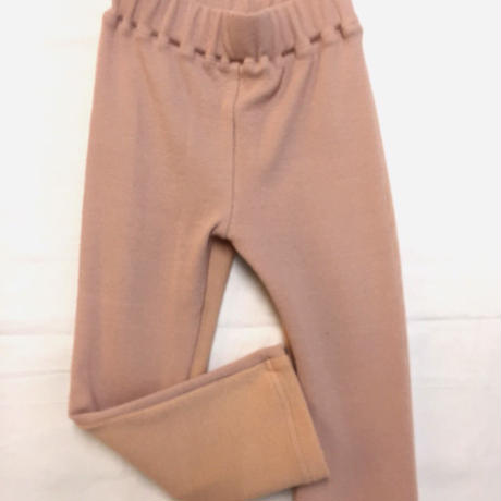 【 melenani 】Bicolor Rib Leggings pants